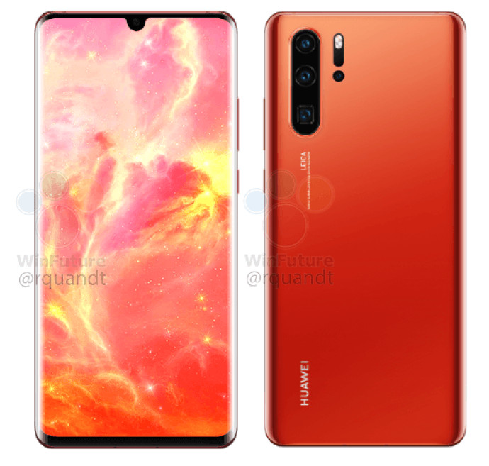 Huawei P30 & P30 Pro specifications leaked ahead of the official launch